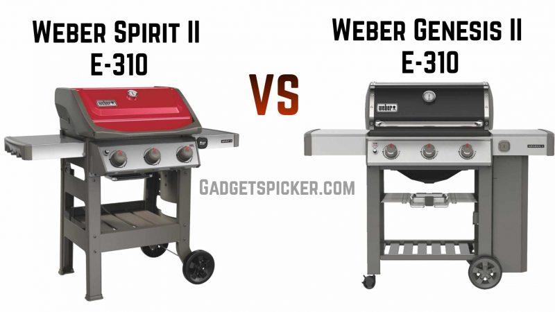 Weber Spirit vs Genesis