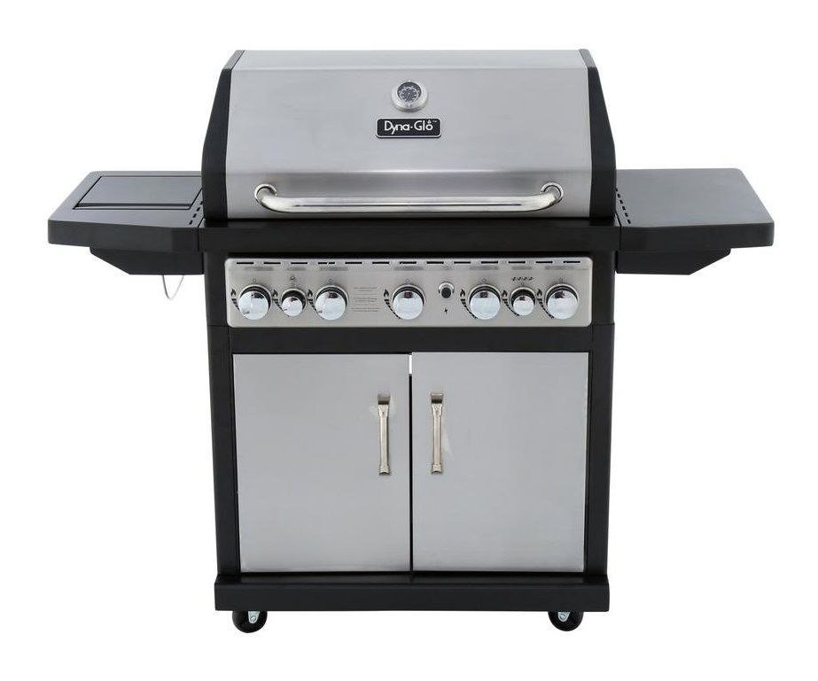 Dyna-Glo 5-Burner Black & Stainless Premium Grill