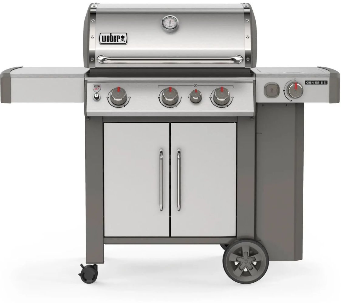 Weber Genesis II S-335 3-Burner Stainless Steel Grill