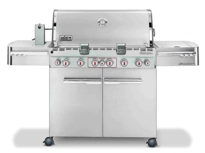 Weber Summit S-670 Stainless-Steel Gas Grill